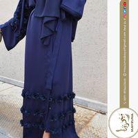 New Navy Blue Designer Abaya