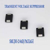 1500W 64V DO-214AB Case TVS Chip Rectifier Diode SMCJ64A/CA Free Samples