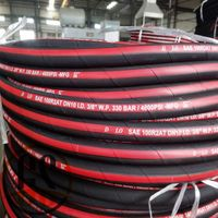 SAE J517 100 R2AT hydraulic rubber hose thumbnail image