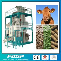 Complete Cattle Feed Pellet Mill Plant thumbnail image