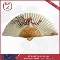 Popular Bamboo Fabric Fan &Paper Hand Fan