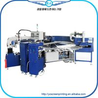 Automatic sock carousel printing machine