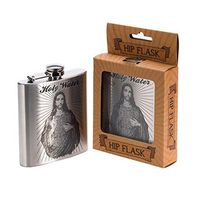 stainless steel hip flask with engrave logo