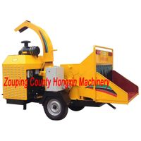 Diesel Engine Mobile Wood Chipper HXBC1000