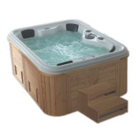 Foshan outdoor massage hot tub 4 person spa bathtub thumbnail image
