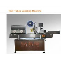 Test Tubes Labeling Machine