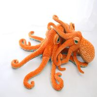 Custom stuffed octopus sea animals manufacturer