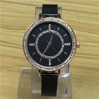 lady wrist quartz watch with crystal stone thumbnail image