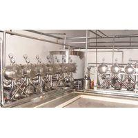 A complete set of potato starch equipment