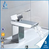 HIGH QUALITY BATHROOM WATERFALL FAUCET UPC BASIN FAUCET thumbnail image
