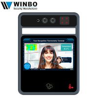 5 Inch Wrist Temperature Detection 2MP Binocular living face recognition terminal thumbnail image