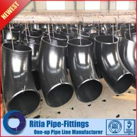 pipeandfittings.cn - Carbon steel ASTM A234 WPB long radius butt weld elbow 90 degree thumbnail image