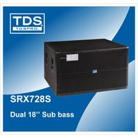 SRX728S- Dual 18inch Subwoofer With 1200W Rated Power-For Large scale Bass Reinforcement