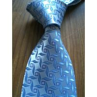 Silk Blue Neck Tie(6826)