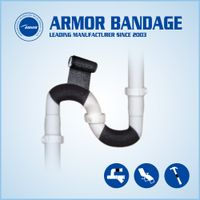 Pipeline Repair Bandage Pipe Fix Tape Water Oil Gas Pipe Fix Tape Made in China thumbnail image
