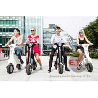 2015 new arrival electric motorbike folding electric scooter for kids with aluminium alloy,lithium b