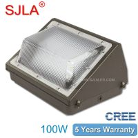 IP65 Outdoor lighiting USA 100W Led Wall Pack Light Led wall mounted light Exterieur Garden Lamp thumbnail image