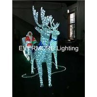Motif light Santa Claus