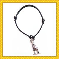 35cm length rope handmade cute alloy metal bracelet