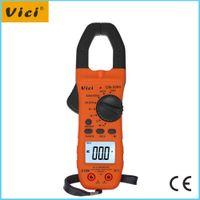 CM-2000 1999 digits digital small ac clamp meter with backlight and clamp light display