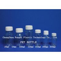 200ml PET plastic bottles