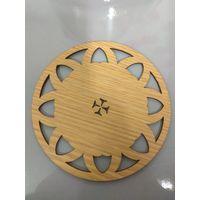 wood coaster,plate mat,tea cup coaster,wood cushion
