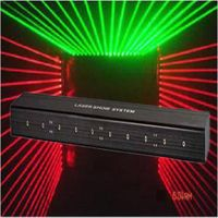 Professional 10 heads laser curtain laser stage light