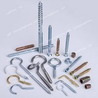 Wood screws/Waisted shank screws/Hook screw/Eye screw/Funiture Screw/Hanger Bolt