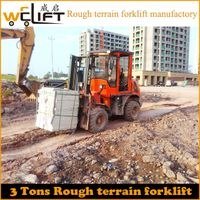 3T Rough Terrain Forklift