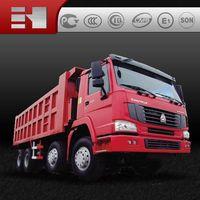 sinotruk howo 8*4 heavy duty dump truck