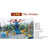 Theme Park Kiddie Rides Rotation -Giant Octopus thumbnail image