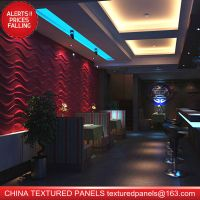CTP 3d interior wall panel, fireproof, waterproof