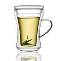 Heat-resistant Borosilicate Double Wall Glass Cups