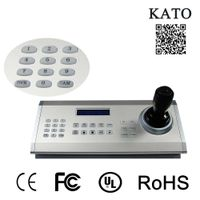 CCTV PTZ Keyboard Controller Security System VISCA USB Video Conference Keyboard Controller