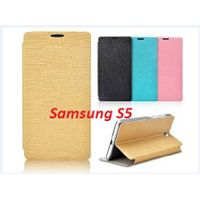 New Arrival! mobile phone accessories wholesale,flip cover case with stand for Samsung Galaxy S5