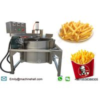 Automatic Continuous Working French Fries De-Oiling Machine for Sale/Stainless Steel French Fries Oi thumbnail image