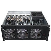 Q-406 6GPU Miner Mining machine system 6 GPU ETH Ethereum