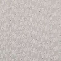 swiss voile 100% cotton dress fabric embroidered lace thumbnail image