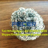 Galvanized scourer/iron scourer/steel scrubber for kitchen cleaning