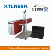 Mini portable fiber laser marker