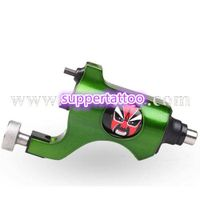New Arrival Tattoo machine Blue Peking Opera Mask Rotary Motor Gun Hybird Liner shader