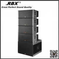 X-215B China Dual 15 active speaker box line array for sound system