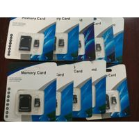 Good Quality Black Memory Card 128GB 64GB 32GB 16GB 8GB 4GB Real Capacity TF Card With 8 Years Warra