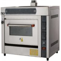 Commercial Single Gas Deck Oven 1 Deck 2 Trays All S/S Cake Bakery Oven FMX-O20R thumbnail image