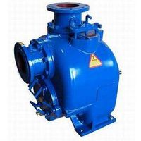 self-priming non clog sewage pump