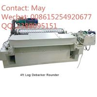 4ft wood log rounder debarking machine thumbnail image