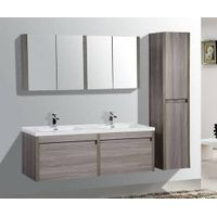 Modern High-End Atmosphere Waterproof Solid Wooden Bathroom Vanity Cabinet-M1217
