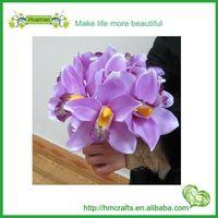 artificial flower bouquet cymbidium