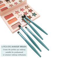Ultra soft portable mini eye shadow brush nose brush eyebrow brush lip brush smudge brush set in 5pc thumbnail image