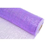 "21""10y light purple strip pp wraps mesh for flowers 100C08"